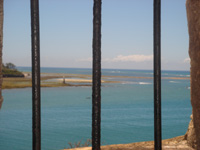 View of Mombasa old harbour entrance from Fort Jesus