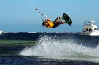 Kitesurfing in Watamu with Tribe Watersports